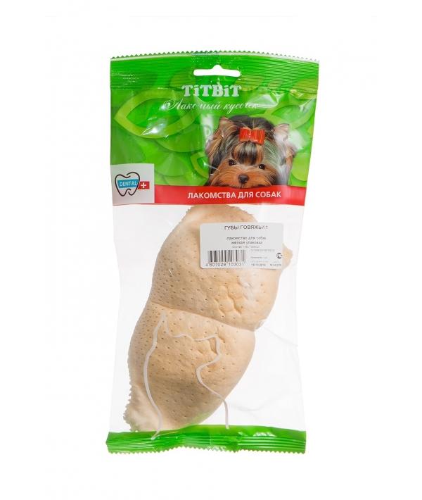 Губы говяжьи, 1шт. (мягкая упаковка) – 3031
