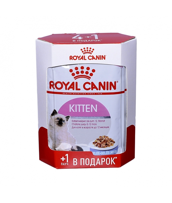Кусочки в желе для котят: 4–12 мес. (Kitten Instinctive) 7833007