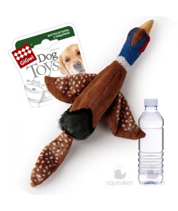 Игрушка для кошек Птица с пласт. бутылкой с пищалкой в крышке (75225)50200