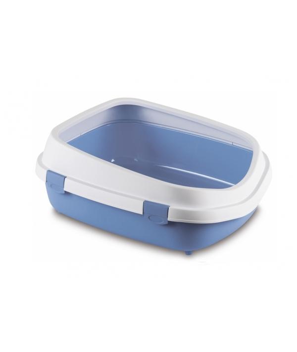 Туалет Queen с рамкой, голубой, 55*71*24,5см (96851)