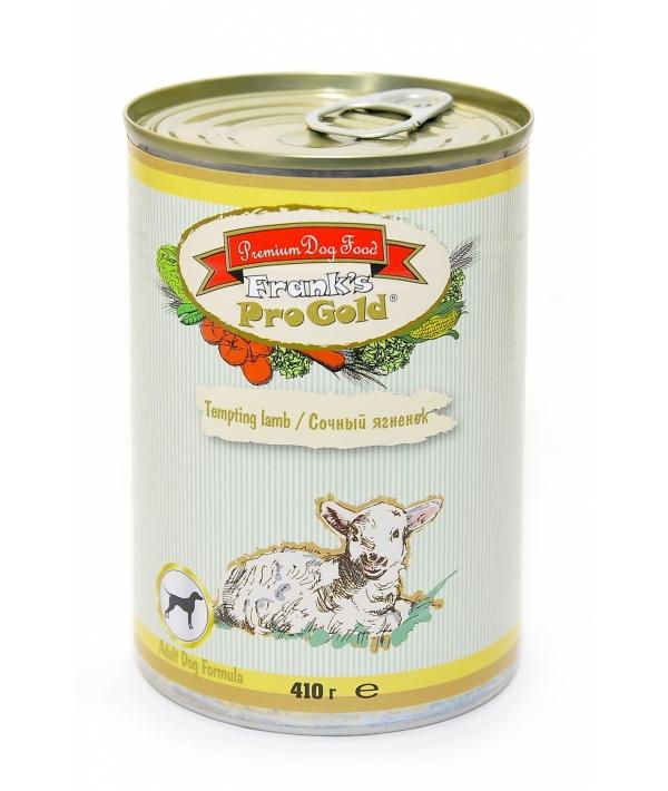 """Консервы для собак """"Сочный ягненок"""" (Tempting lamb Adult Dog Recipe)"""