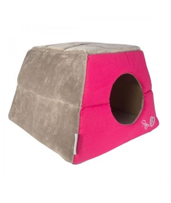 """Мягкий домик – трансформер """"Розовые леденцы"""" (41х41х30см) (CATZ IGLOO) CIP06"""