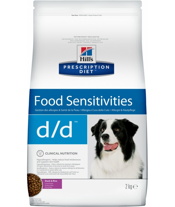 D/D Утка&рис: Лечение пищевых аллергий и непереносимости (Duck&Rice) 9117U