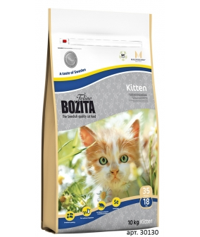 Для котят с курицей, лососем и рисом (Kitten 35/18)
