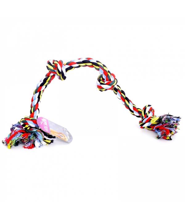 """Игрушка для собак """"Веревка с 4 узлами"""", хлопок, 60см (Flossy toy 4 knots) 140746"""