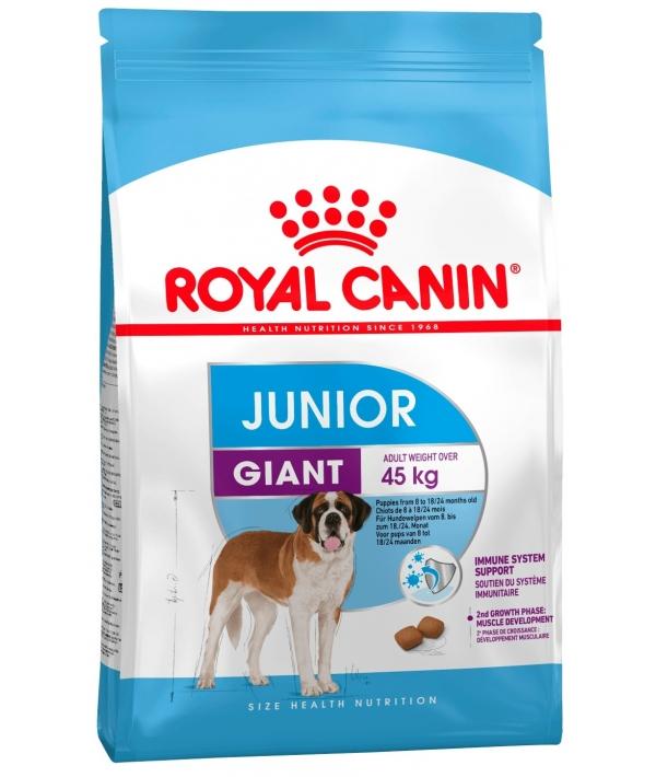 Для щенков гигантских пород: 8–18 мес. (Giant Junior) 197235