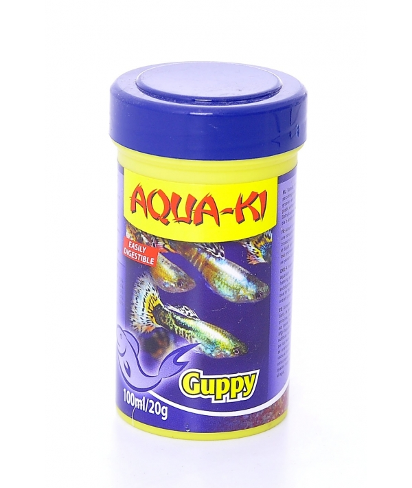 Корм для гуппи (AQUA – KI GUPPY 100 ML)