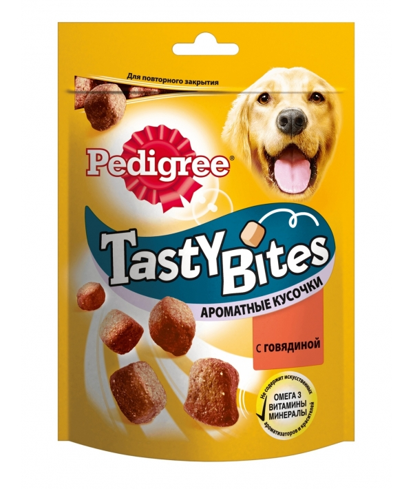 Лакомство для собак ароматные кусочки с говядиной 10183055