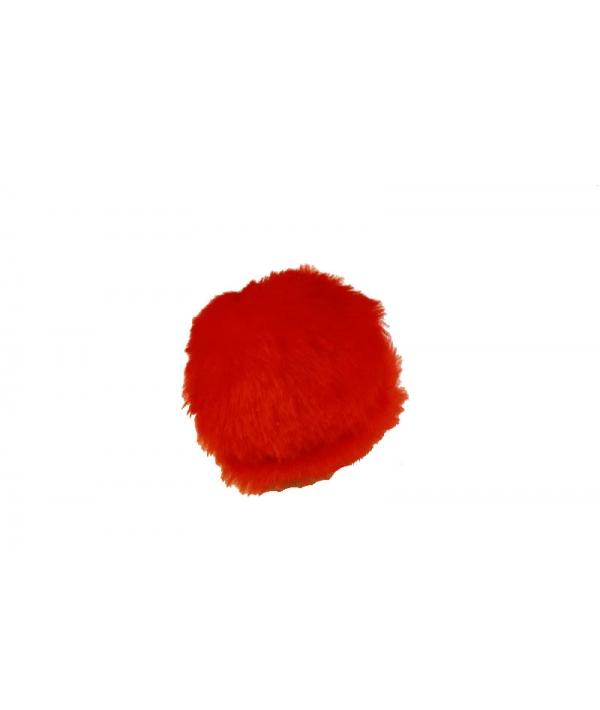 1шт. Мячик меховой для кошек, 4см (2410)