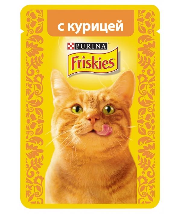 Кусочки в подливе c Курицей для кошек 12261850