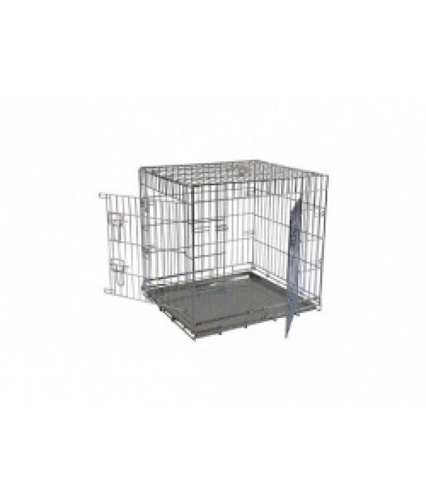 Клетка металлическая с 2 дверками, 61*54*58 см (Wire cage 2 doors) 150261