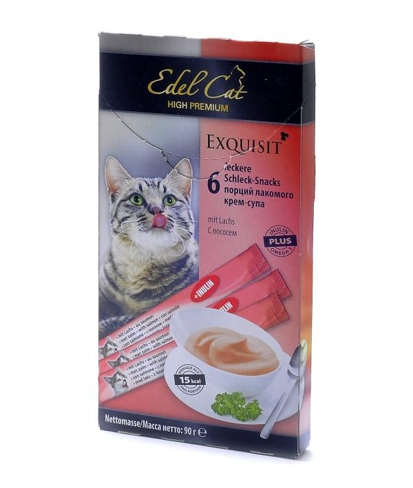 Лакомство крем – суп лосось, нормализация пищеварения 1*6 шт