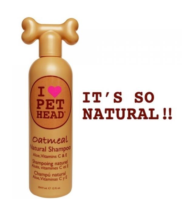 """Шампунь """"100% натуральный"""" для собак с маслом овсянки, жожоба, без сульфатов и парабенов (Oatmeal) PH10117"""