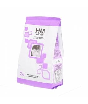 Для взрослых кошек с ягненком и рисом
