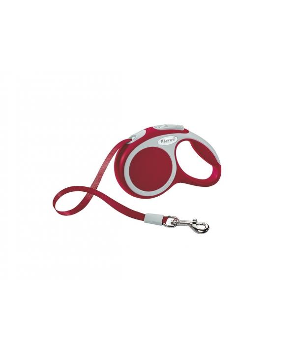 Рулетка – ремень для собак до 12кг, 3м, красная (Vario XS tape 3m red)