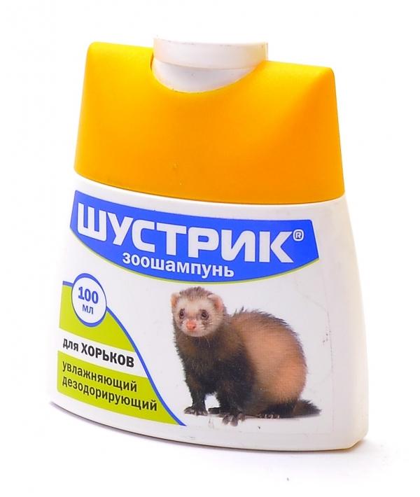 Шустрик Зоошампунь для хорьков, увлажняющий дезодорирующий АВ237