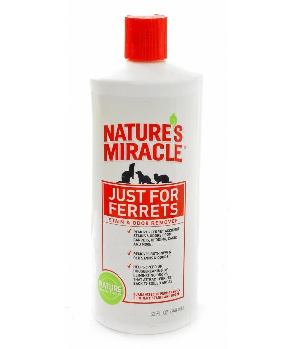 Спрей – Уничтожитель пятен и запахов, оставленных хорьками (Ferrets Stain&Odor Remover),enm5177