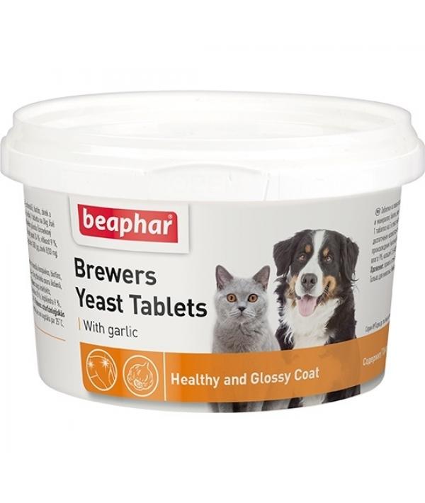 Витамины д/собак и кошек с пивными дрожжами и чесноком, 250шт. (Brewers Yeast&Garlic) 12664