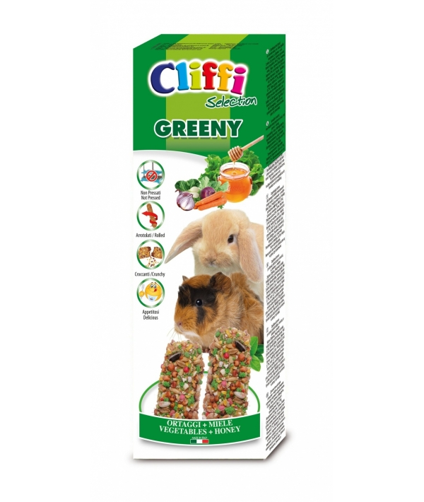 Лакомства для Морских свинок и Кроликов: палочки с овощами и медом (Sticks for rabbits and guinea pigs honey and vegetables, GRENNY) PCRA254 //