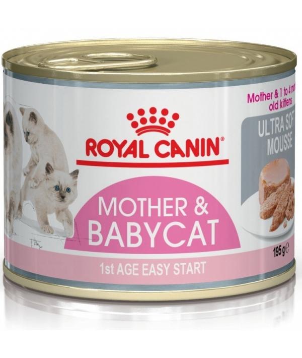 Мусс для котят до 4 мес. (BabyCat Instinctive) 480002/ 480102