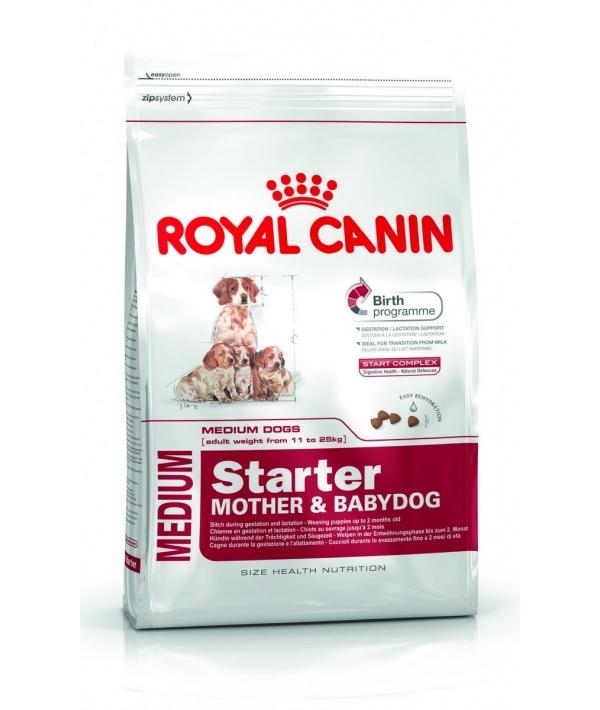 Для щенков средних пород: 3нед.–2 мес., беременных и кормящих сук (Medium Starter) 189040