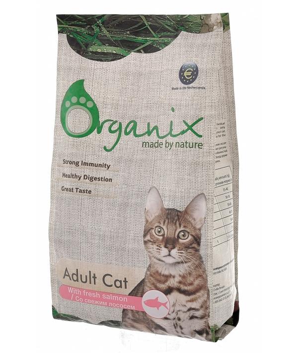 Для кошек со свежим лососем и рисом (Adult Cat Salmon)