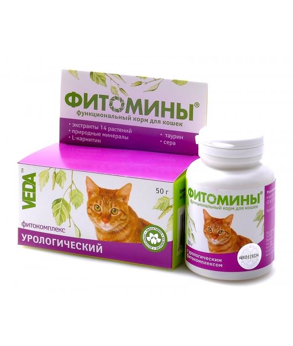 Фитомины Проф – ка Мочекам.болезни кошек (урология), 100таб.