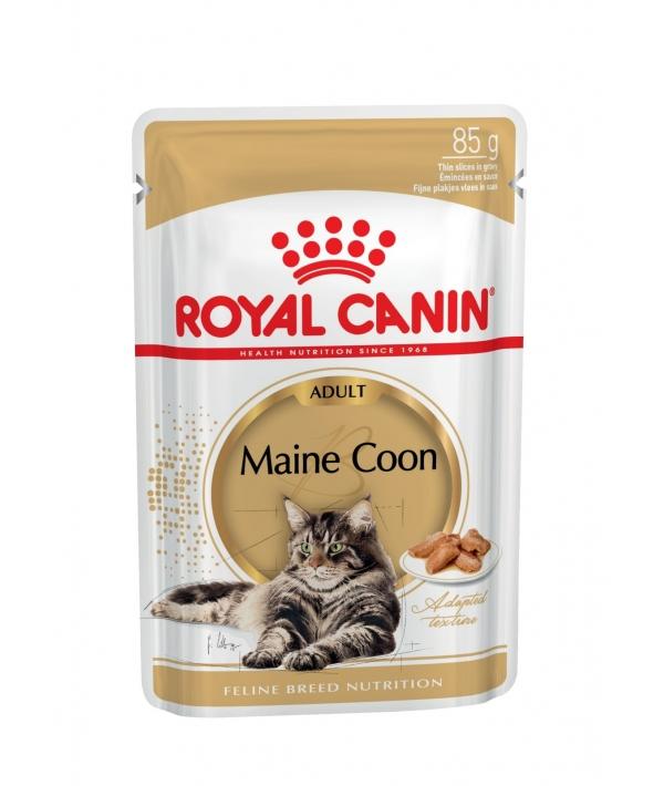 Паучи Кусочки в соусе для Мейн Куна 542001 / Maine Coon
