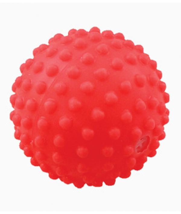 """Игрушка для собак """"Мяч игольчатый №1,5"""" винил, 5см (СИ74)"""