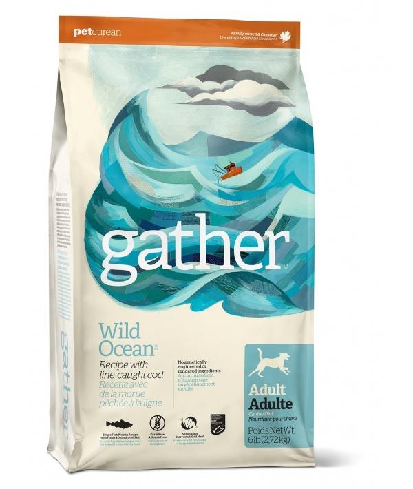 Органический корм для собак с океанической рыбой (GATHER Wild Ocean Fish DF) 4301106