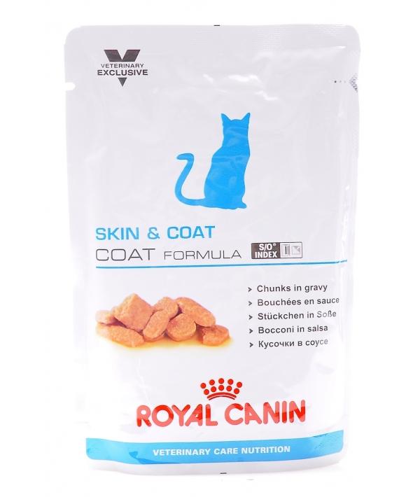 Паучи для кастрир.котов и кошек: 1–7 лет – идеальная кожа и шерсть (Skin&Coat Formula) 773001/ 773101