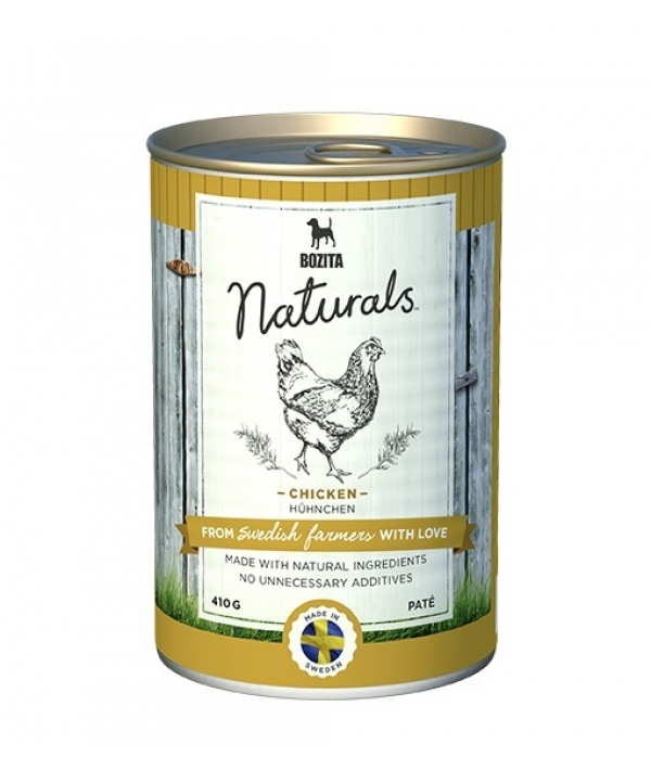 Naturals консервы для собак с курицей