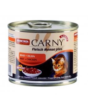 Консервы для кошек с говядиной и курицей (CARNY Adult)001/83551/001/83703
