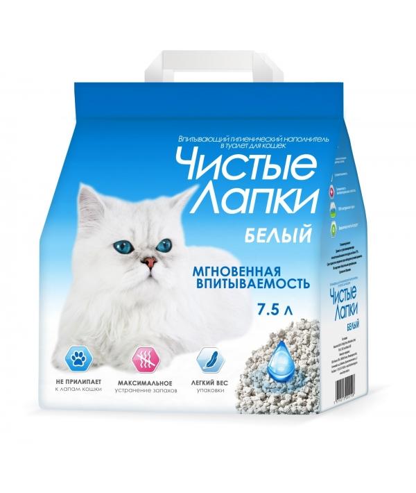 Впитывающий гигиенический наполнитель 7,5 литра