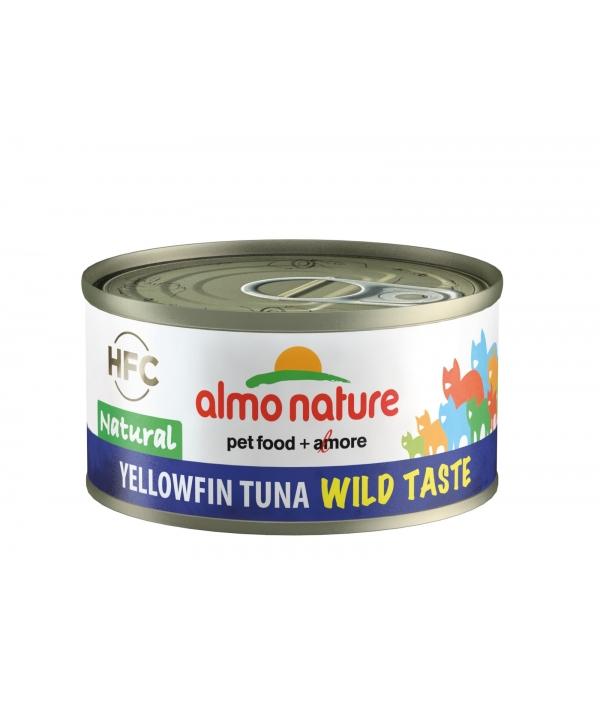 "Консервы для кошек ""Желтохвостный тунец"", 75% мяса (HFC WILD TASTE NATURAL CATS YELLOWFIN TUNA) 5320H"