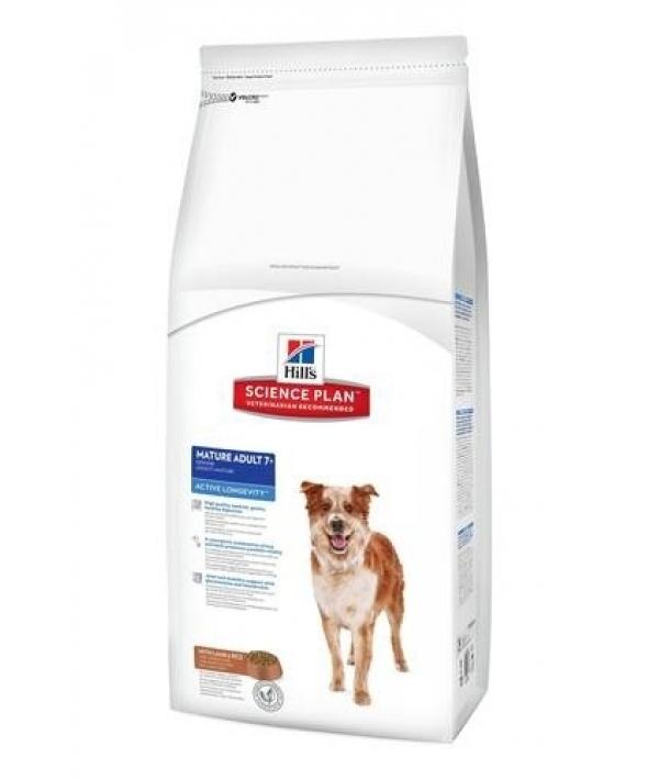 Для пожилых собак с ягненком и рисом(Senior Lamb&Rice) 7538U