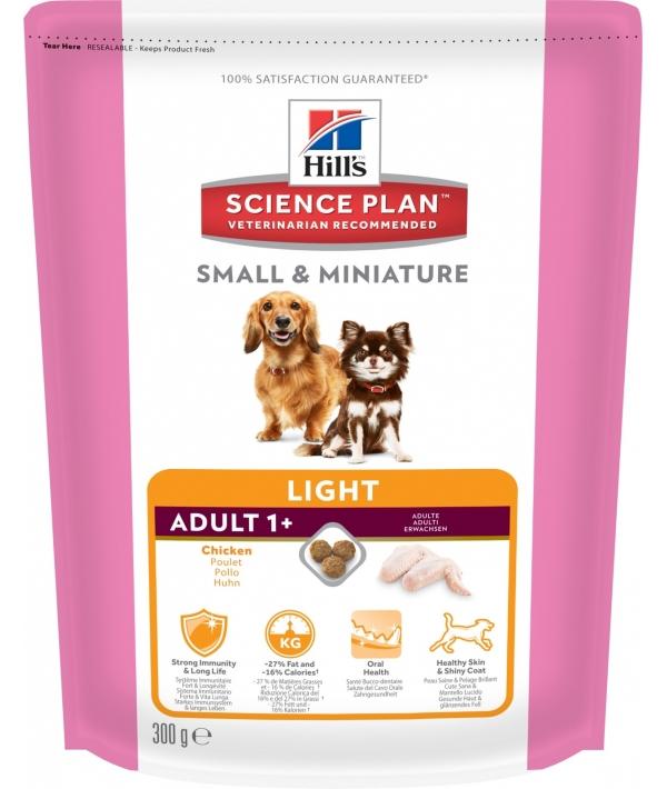 Для взрослых собак малых и миниатюрных пород низкокалорийный(Adult Light Small&Miniature) 2814T