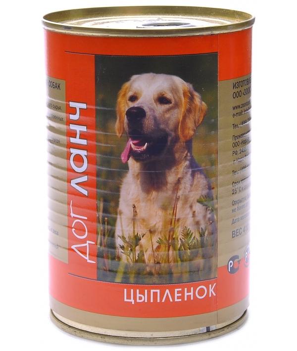 Консервы для собак Цыпленок (29001/60963)