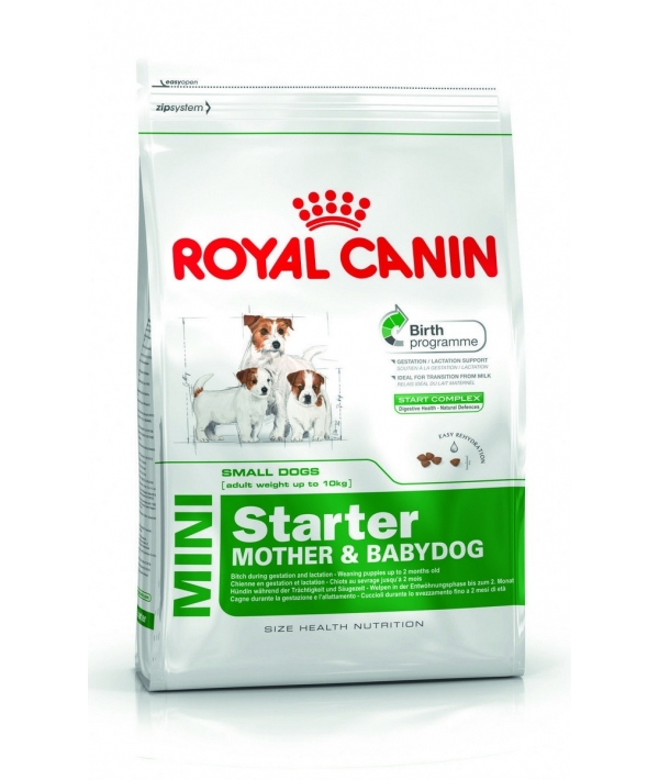 Для щенков малых пород: 3нед.–2 мес., беременных и кормящих сук (Mini Starter) 186030/ 186130