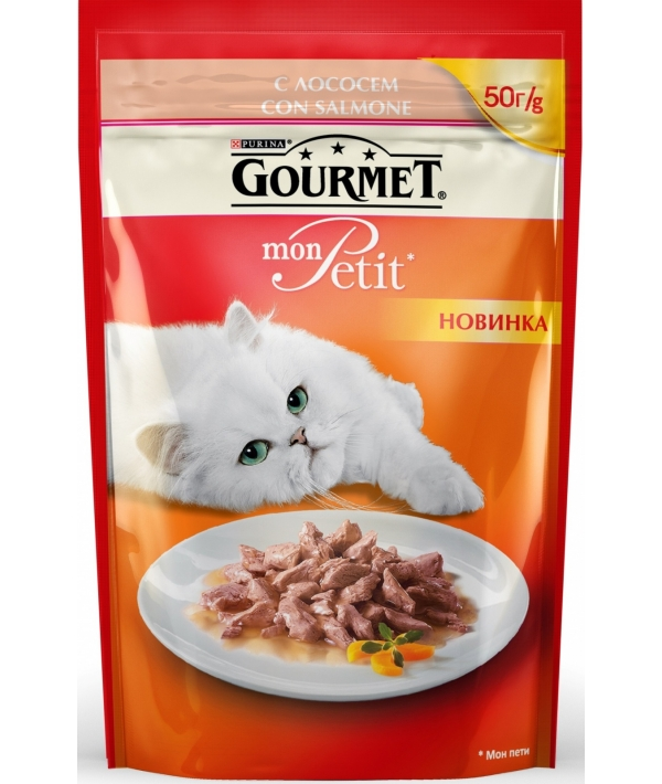 Кусочки в соусе Mon Petit лососем 12287079/12319339