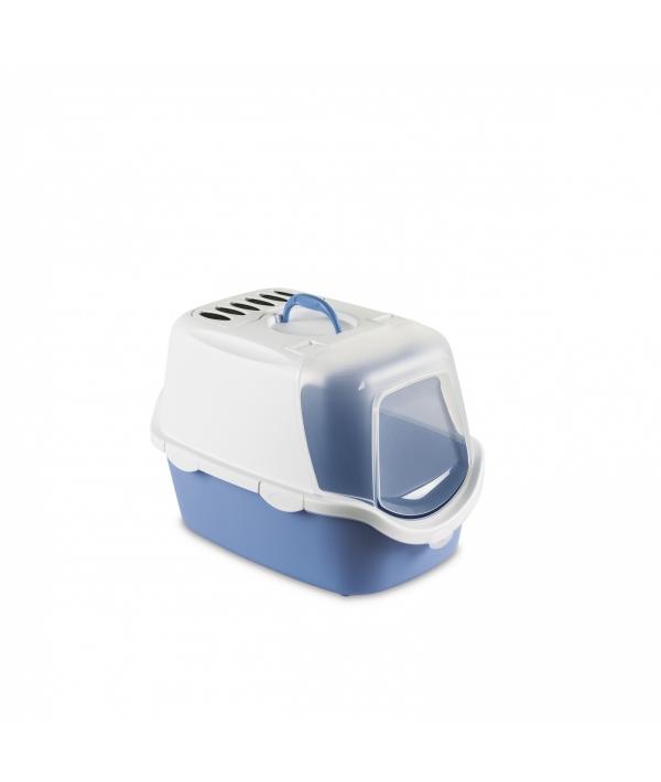 Туалет – Домик Cathy Easy Clean с угольным фильтром, голубой, 56*40*40см (98606)