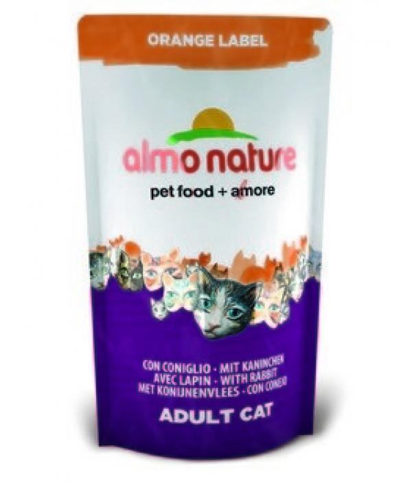 Для Кастрированных кошек с Кроликом (Orange label Cat Rabbit) 420