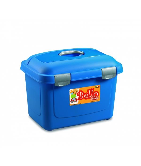 Контейнер Bello, 45х33х33, 26л, синий (71154)