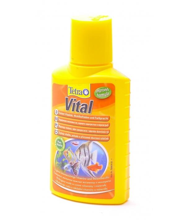 Кондиционер с йодом и витамином В Tetra Vital 100ml 139237