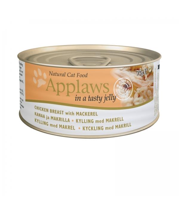 Кусочки в желе для Кошек с Курицей и Скумбрией ( Jelly Chicken & Mackerel) 1035CE – A