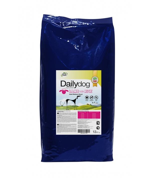 Для взрослых собак средних пород с ягненком и рисом (ADULT MEDIUM BREED Lamb and Rice) 240ДД