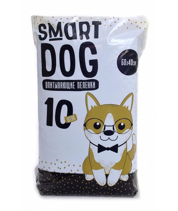 Впитывающие пеленки для собак 60*40, 10 шт