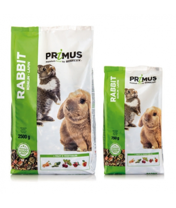 "Корм для кроликов ""Премиум"" (Primus rabbit Premium) 32522 (PRIMUS RABBIT 2500G) 32522"