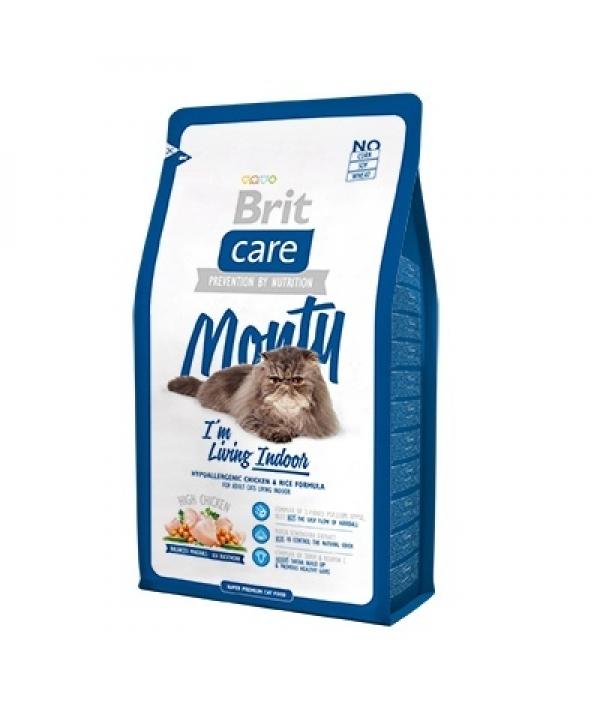 Сухой корм для кошек, живущих в квартире, с курицей (132610)