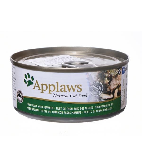 Консервы для Кошек с филе Тунца и Морской капустой (Cat Tuna Fillet & Seaweed) 2009CE – A
